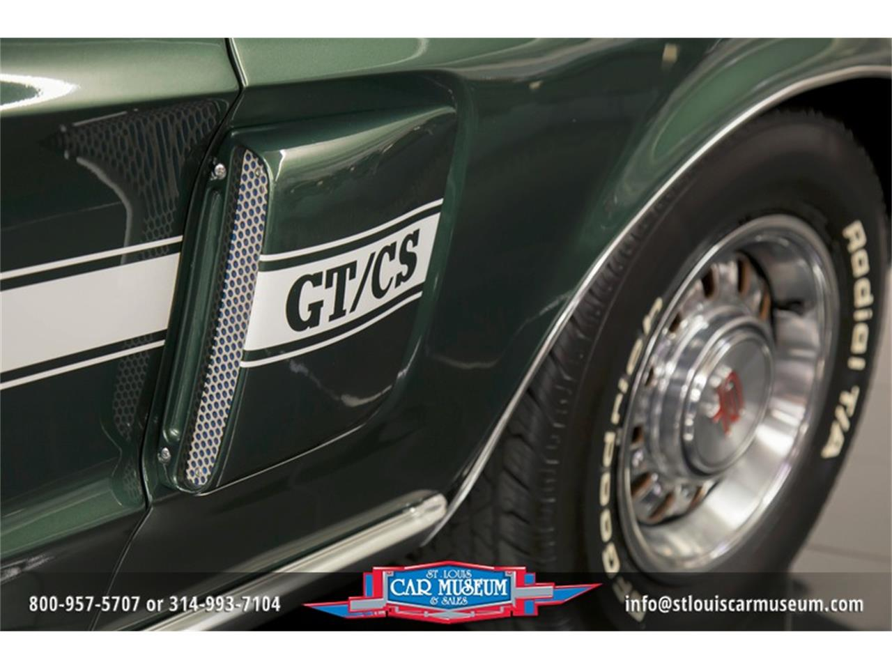 Large Picture of '68 Mustang GT/CS (California Special) Offered by St. Louis Car Museum - LWVZ