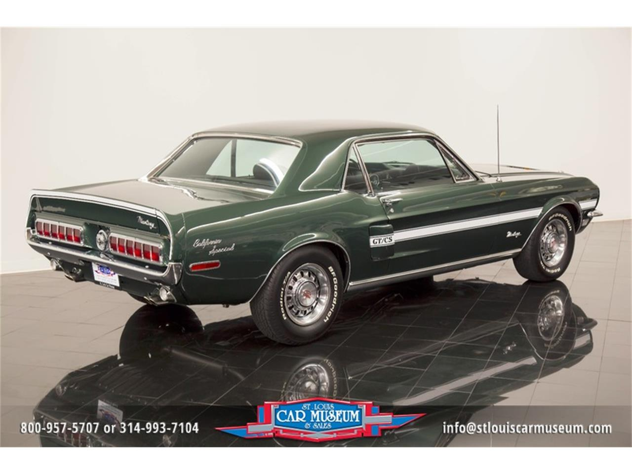 Large Picture of Classic 1968 Ford Mustang GT/CS (California Special) located in Missouri - $59,900.00 - LWVZ