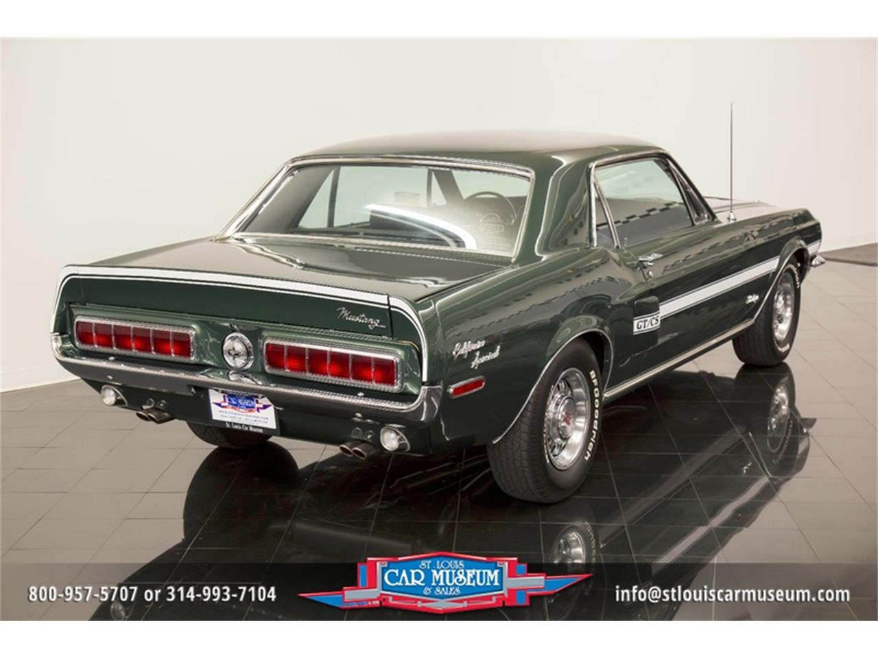 Large Picture of 1968 Ford Mustang GT/CS (California Special) located in Missouri - LWVZ