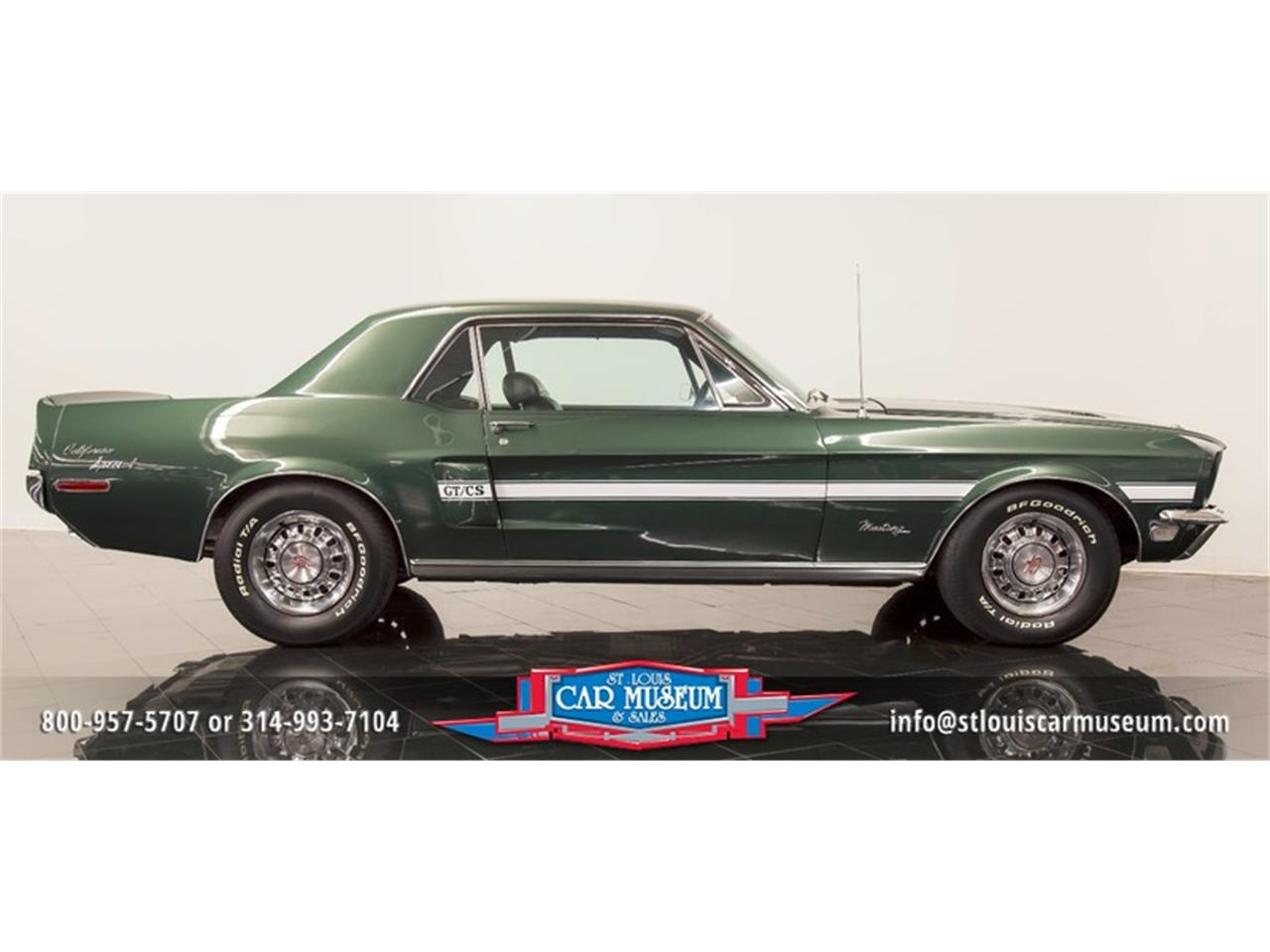 Large Picture of 1968 Ford Mustang GT/CS (California Special) located in Missouri - $59,900.00 - LWVZ