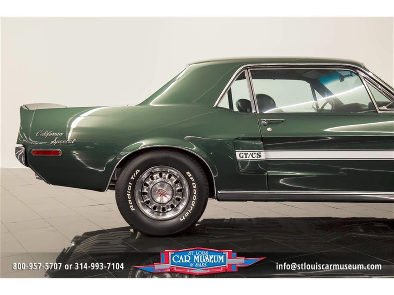 Large Picture of '68 Mustang GT/CS (California Special) - $59,900.00 Offered by St. Louis Car Museum - LWVZ