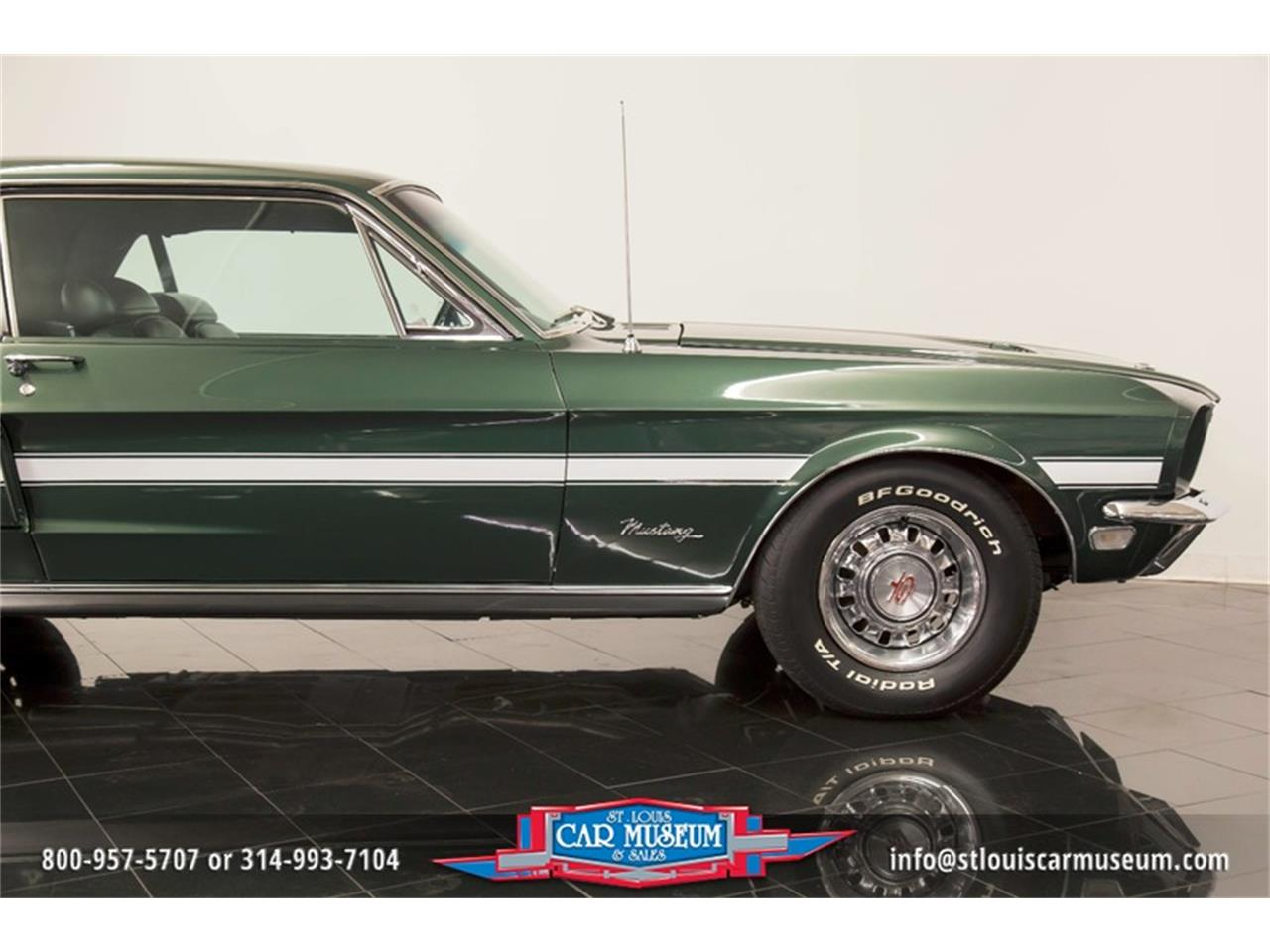 Large Picture of '68 Ford Mustang GT/CS (California Special) located in St. Louis Missouri Offered by St. Louis Car Museum - LWVZ