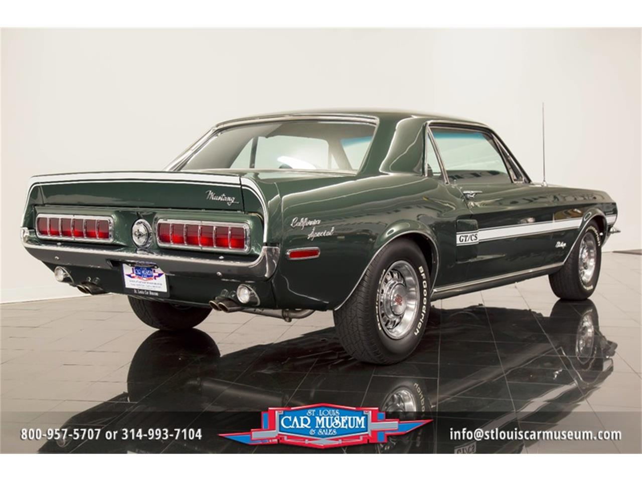 Large Picture of Classic 1968 Ford Mustang GT/CS (California Special) located in St. Louis Missouri - $59,900.00 - LWVZ