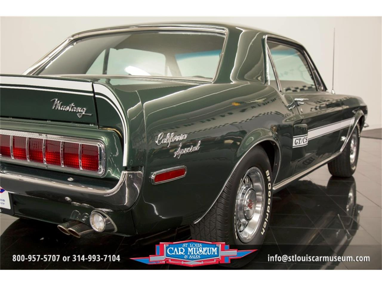 Large Picture of 1968 Mustang GT/CS (California Special) located in Missouri Offered by St. Louis Car Museum - LWVZ