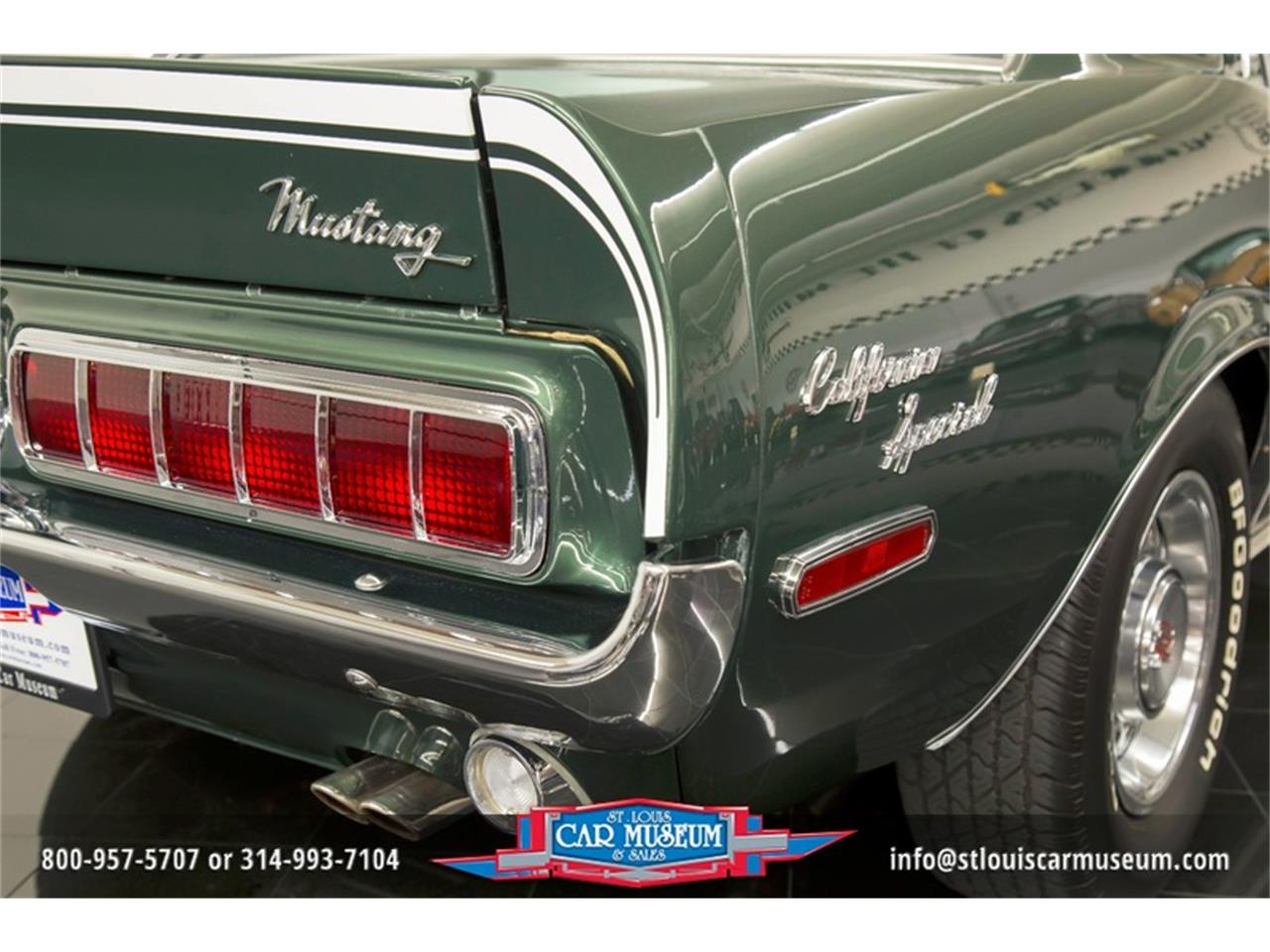 Large Picture of Classic 1968 Mustang GT/CS (California Special) - LWVZ