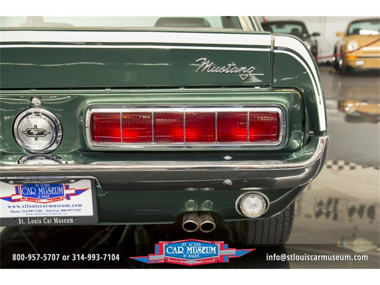 Large Picture of 1968 Mustang GT/CS (California Special) located in Missouri - $59,900.00 Offered by St. Louis Car Museum - LWVZ