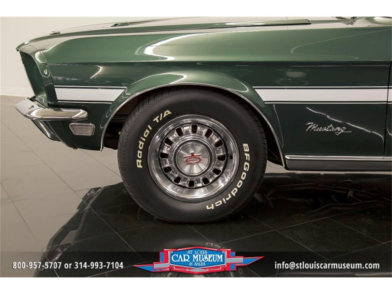 Large Picture of Classic 1968 Ford Mustang GT/CS (California Special) located in St. Louis Missouri - LWVZ