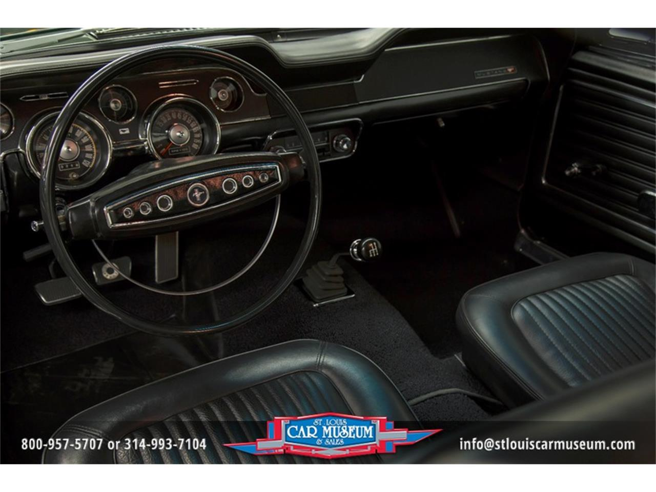Large Picture of 1968 Ford Mustang GT/CS (California Special) - $59,900.00 Offered by St. Louis Car Museum - LWVZ