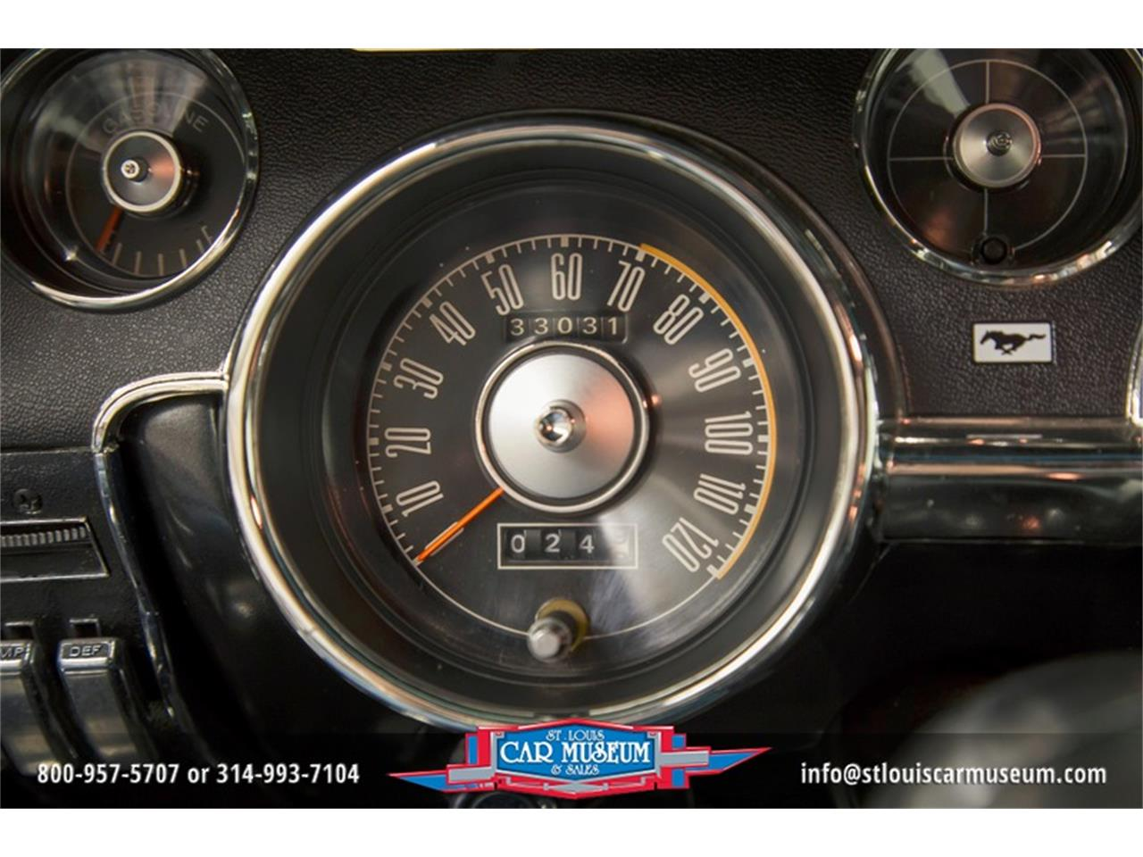 Large Picture of '68 Ford Mustang GT/CS (California Special) located in St. Louis Missouri - $59,900.00 Offered by St. Louis Car Museum - LWVZ
