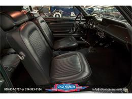 Picture of Classic '68 Mustang GT/CS (California Special) located in St. Louis Missouri Offered by St. Louis Car Museum - LWVZ