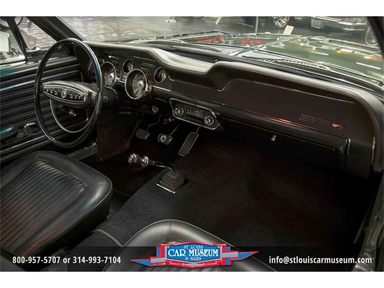 Large Picture of 1968 Mustang GT/CS (California Special) Offered by St. Louis Car Museum - LWVZ