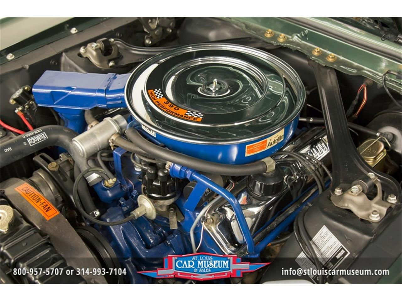Large Picture of Classic 1968 Mustang GT/CS (California Special) located in St. Louis Missouri - $59,900.00 Offered by St. Louis Car Museum - LWVZ