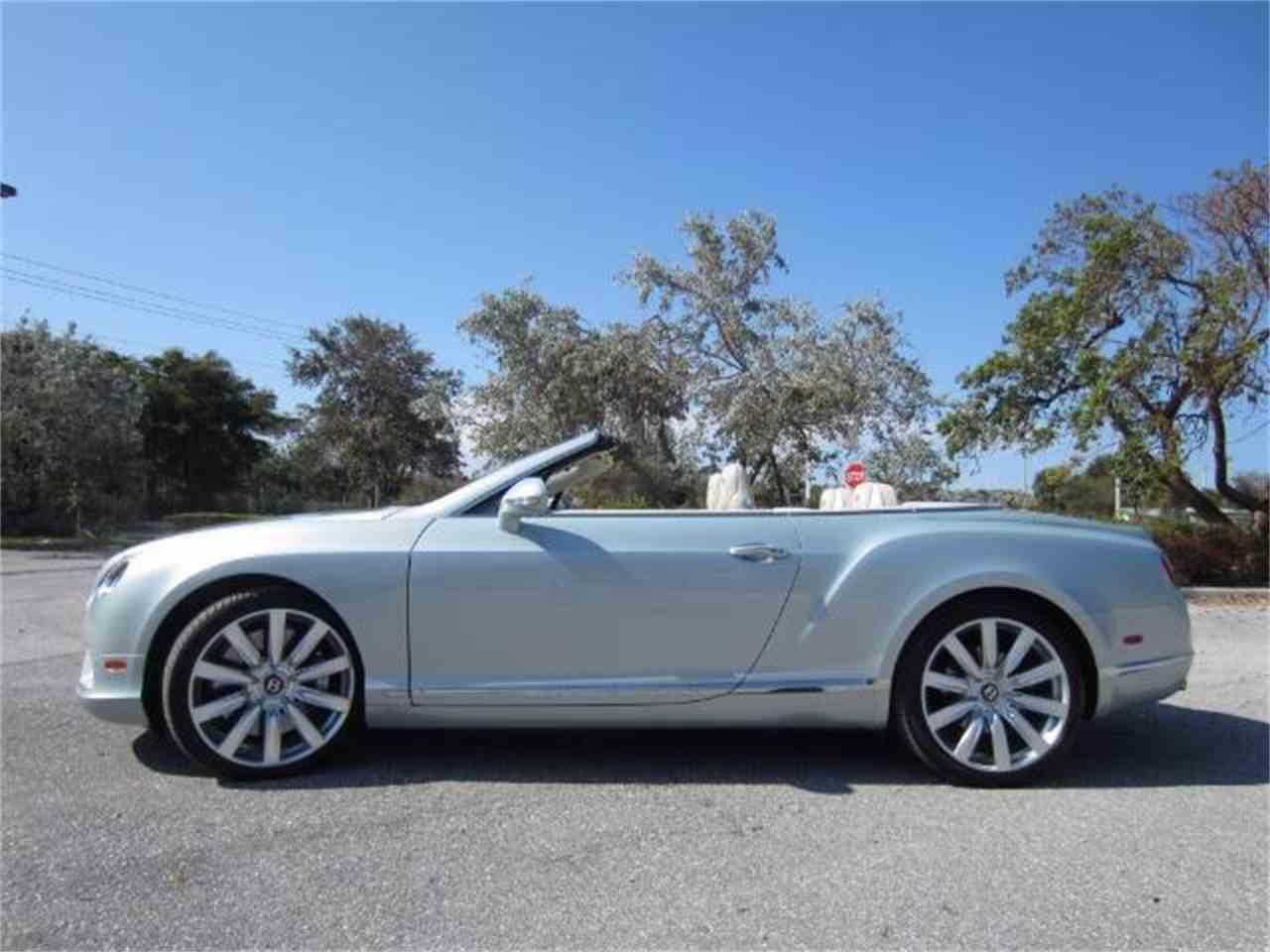 2013 Bentley Continental GTC V8 for Sale | ClassicCars.com | CC-1022458