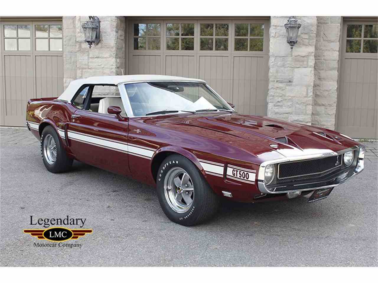 1969 ford mustang shelby gt500 for sale cc 1022495. Black Bedroom Furniture Sets. Home Design Ideas