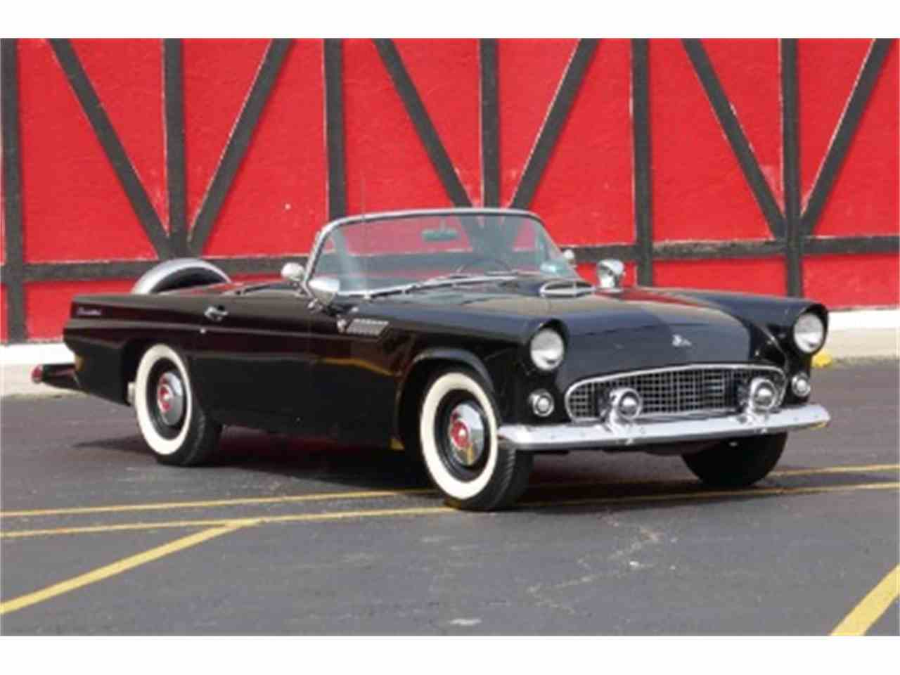1955 ford thunderbird for sale cc 1022784. Black Bedroom Furniture Sets. Home Design Ideas