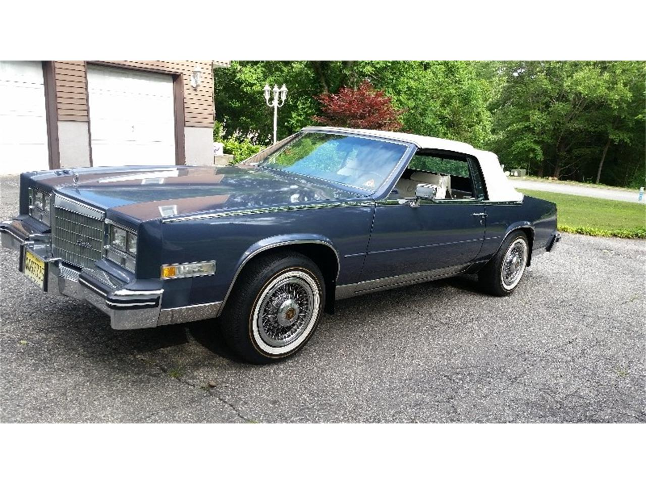 New Cadillac Eldorado >> For Sale 1984 Cadillac Eldorado Biarritz In Newton New Jersey