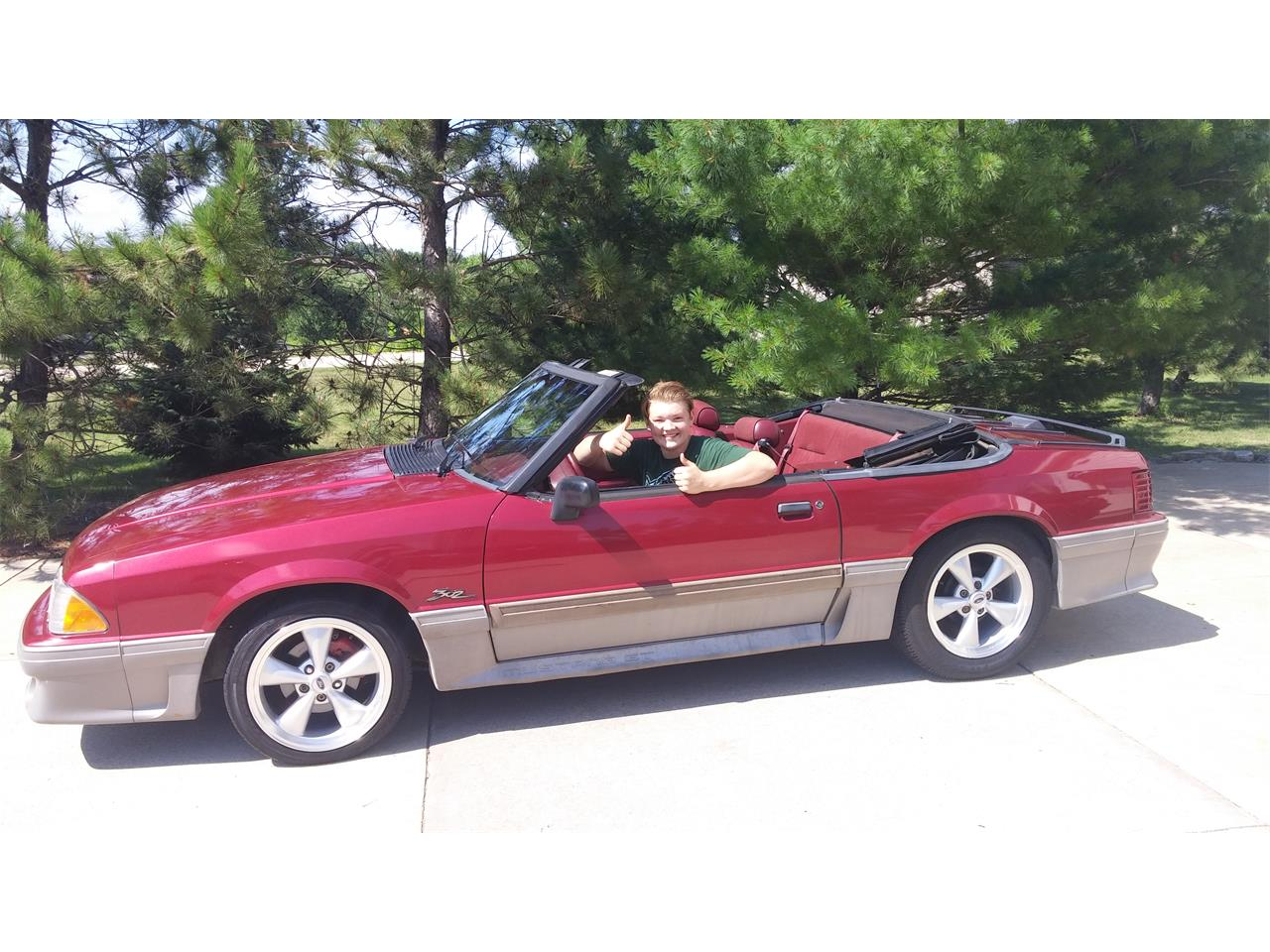 For sale 1993 ford mustang gt in rochestermn minnesota