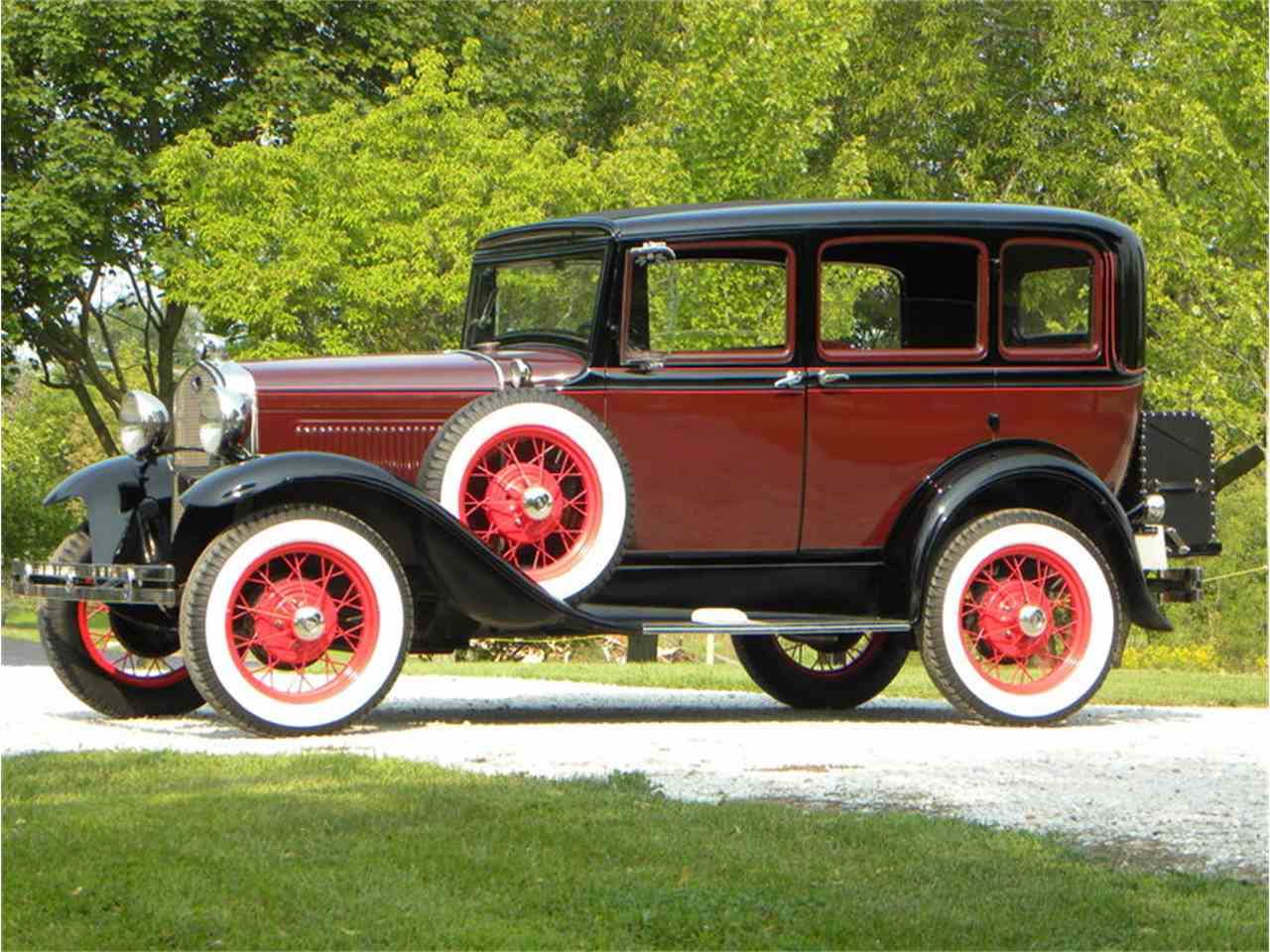 1931 Ford Model A Murray Body Town Sedan for Sale | ClassicCars ...