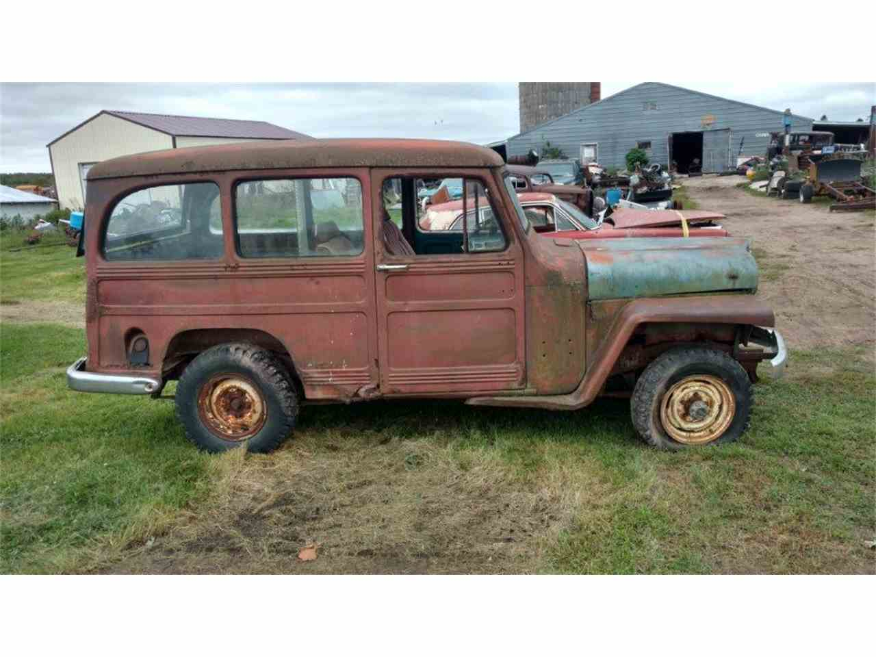 1951 Willys Jeep Wagon for Sale | ClicCars.com | CC-1023002