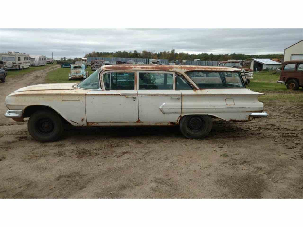 1960 chevrolet station wagon for sale for Nearest motor vehicle inspection station