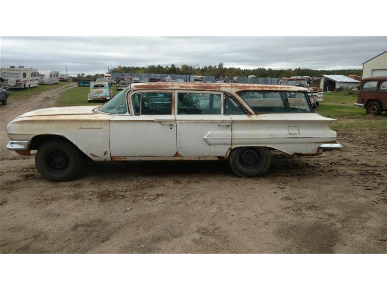 1960 Chevrolet Station Wagon For Sale Classiccars Com Cc 1023004