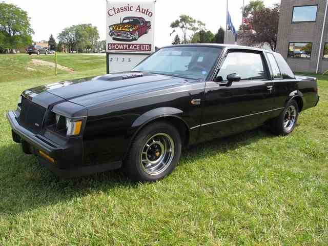 Picture of '87 Buick Grand National located in Troy Michigan Offered by Classic Auto Showplace - LXQR