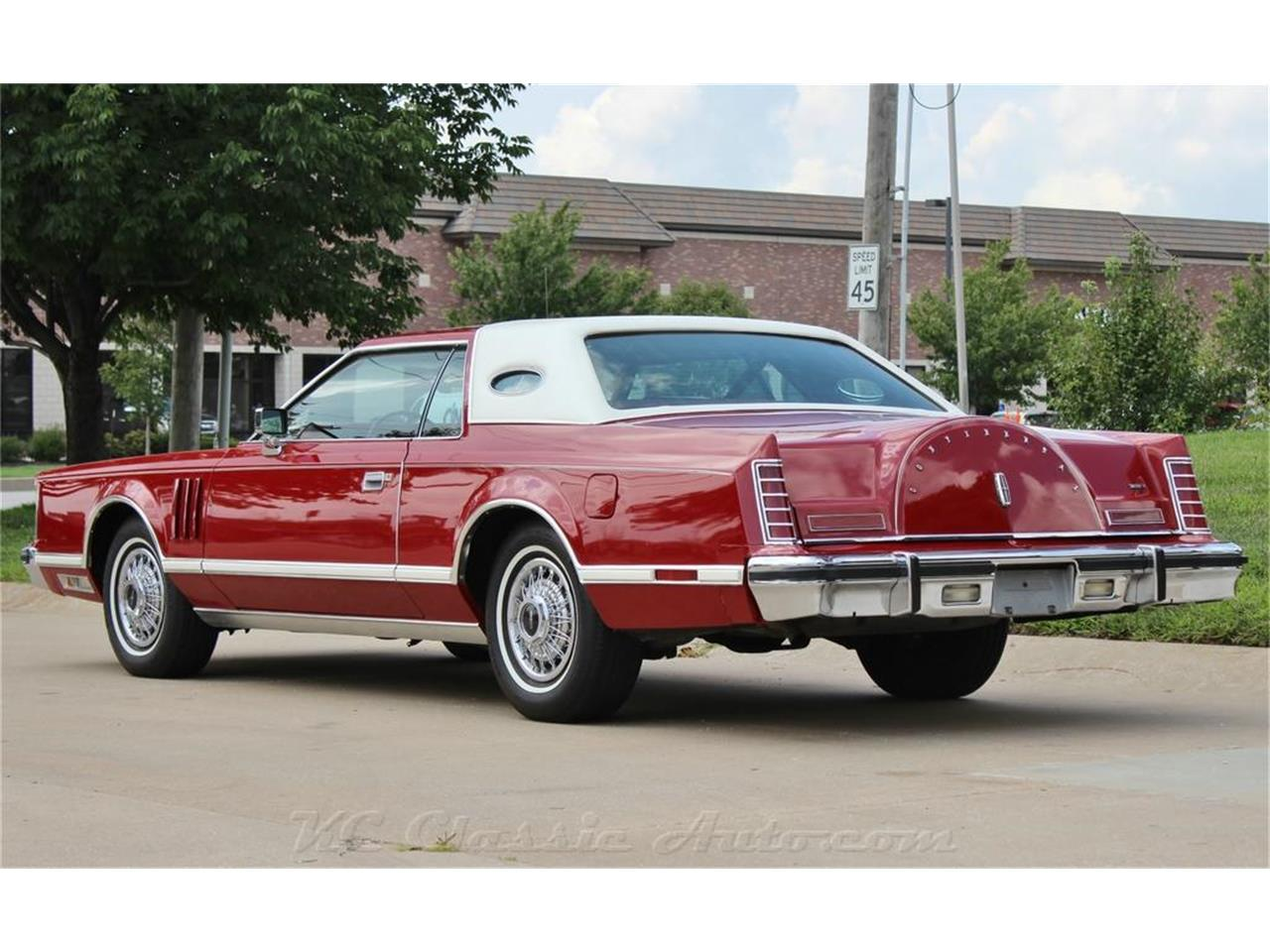 Large Picture of '79 Lincoln Mark V located in Kansas Offered by KC Classic Auto - LXSJ