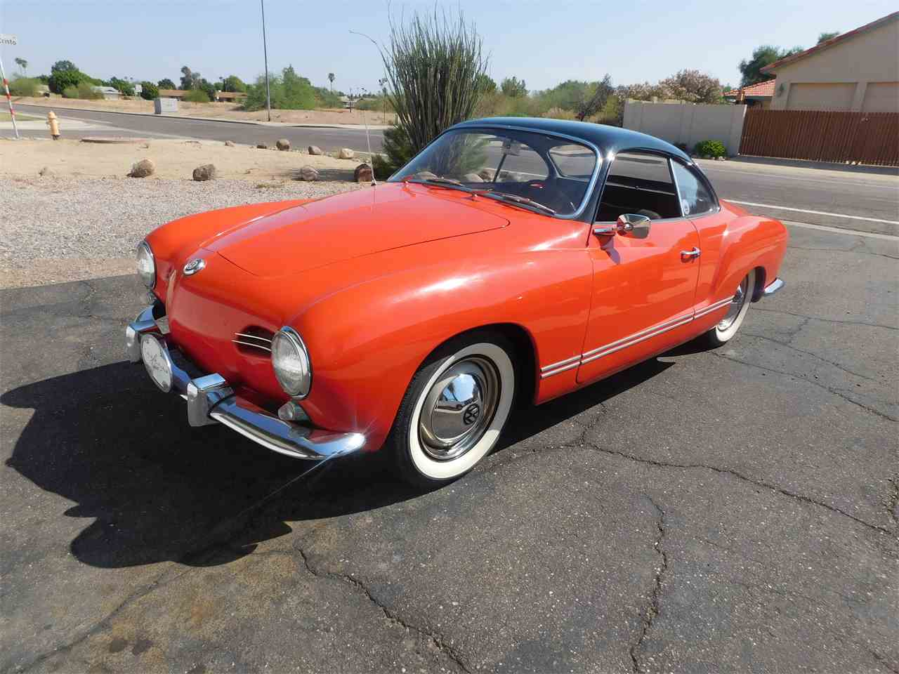 Large Picture of Classic 1956 Karmann Ghia - LVBF