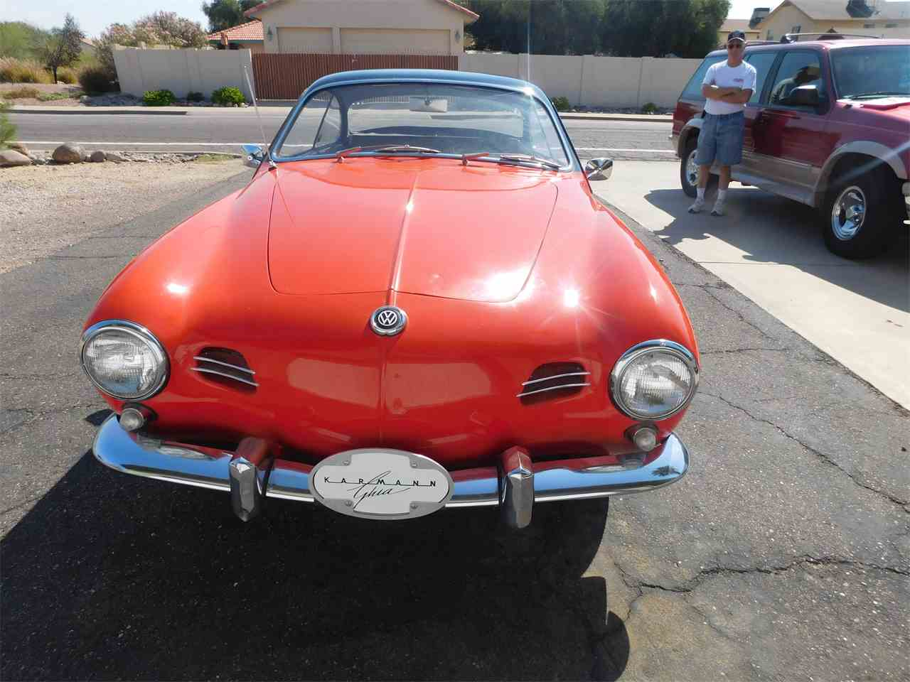 Large Picture of Classic 1956 Karmann Ghia located in Arizona - $33,000.00 Offered by Classic Car Pal - LVBF