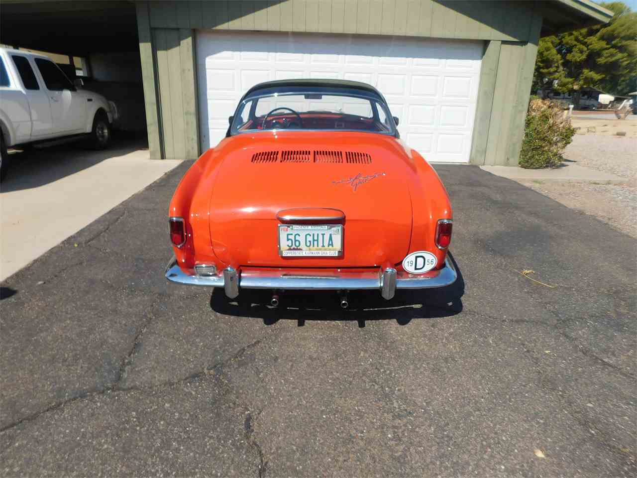 Large Picture of Classic '56 Karmann Ghia located in Arizona - $33,000.00 - LVBF