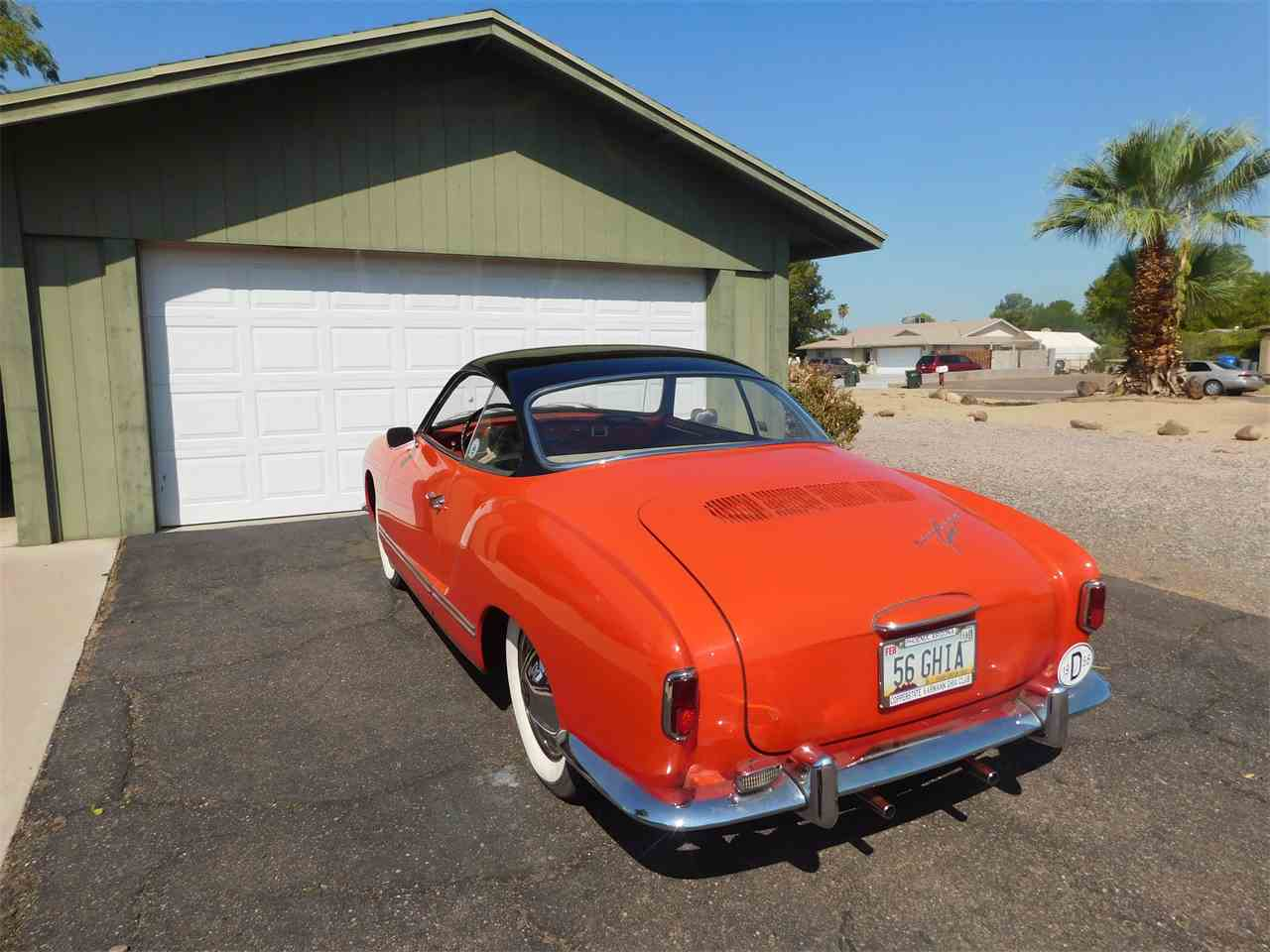Large Picture of Classic '56 Karmann Ghia located in Arizona - LVBF