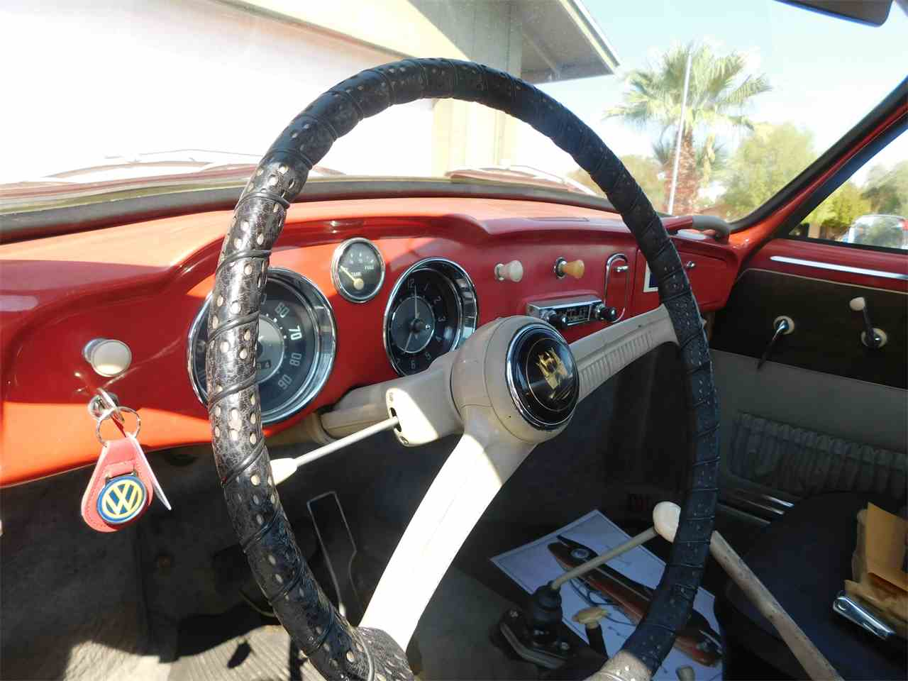 Large Picture of 1956 Karmann Ghia located in Glendale Arizona Offered by Classic Car Pal - LVBF
