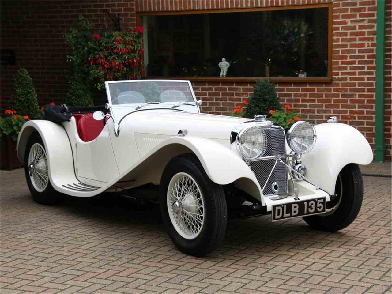 Trucks Under 5000 >> 1936 Jaguar SS100 for Sale | ClassicCars.com | CC-1023638