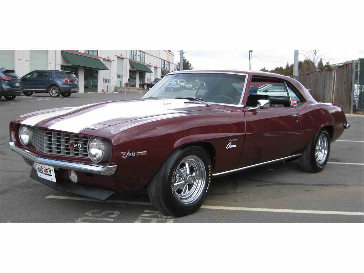 1969 chevrolet camaro z28 for sale cc 1023850. Black Bedroom Furniture Sets. Home Design Ideas
