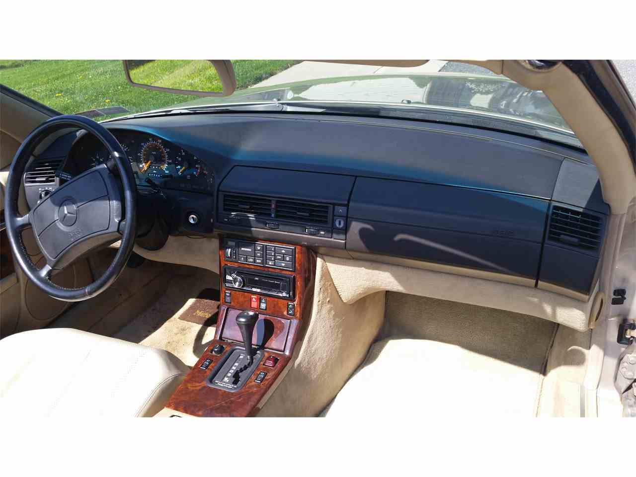 Large Picture of '90 Mercedes-Benz 500SL located in Forest Hill Maryland Offered by a Private Seller - LY0I