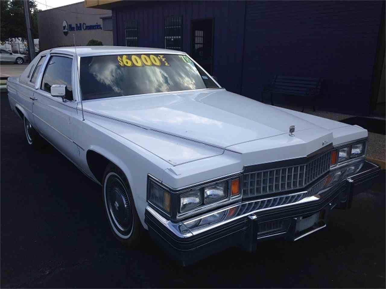 1978 Cadillac Coupe DeVille for Sale | ClicCars.com | CC-1023868