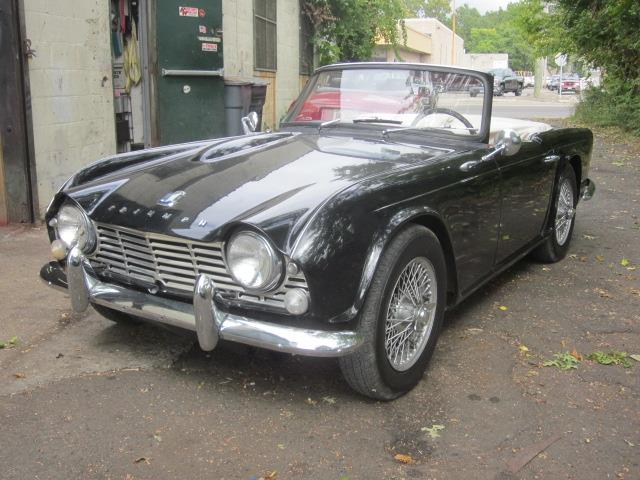1964 triumph tr4 for sale on. Black Bedroom Furniture Sets. Home Design Ideas