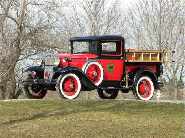 Picture of '31 Model A Fire Chief Truck - LY4O