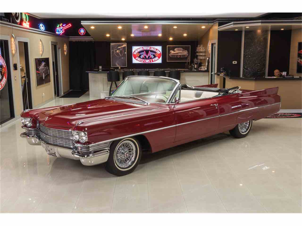 Large Picture of Classic '63 Cadillac DeVille located in Plymouth Michigan - $64,900.00 Offered by Vanguard Motor Sales - LVCM