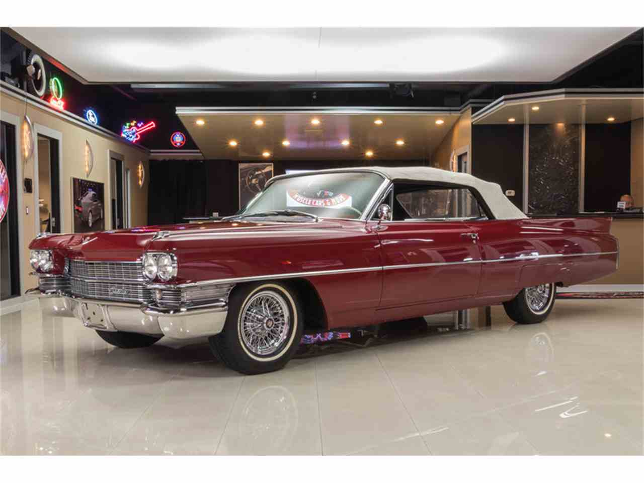 Large Picture of Classic '63 Cadillac DeVille located in Plymouth Michigan - $64,900.00 - LVCM