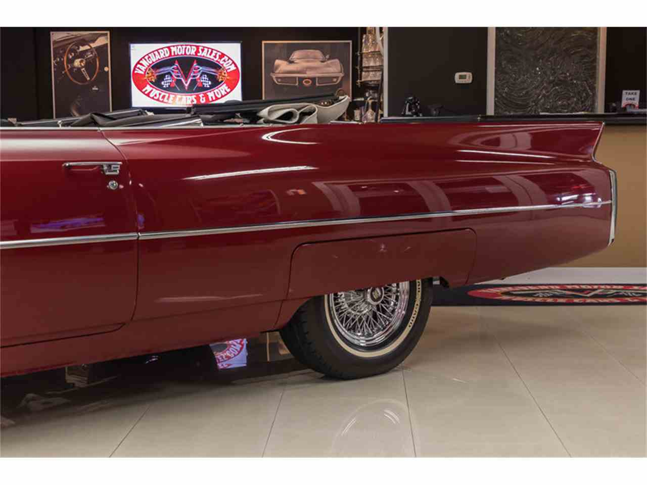 Large Picture of Classic '63 Cadillac DeVille located in Plymouth Michigan Offered by Vanguard Motor Sales - LVCM