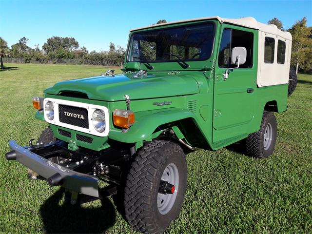 Picture of 1981 Toyota FJ Cruiser located in Florida Offered by a Private Seller - LYBR