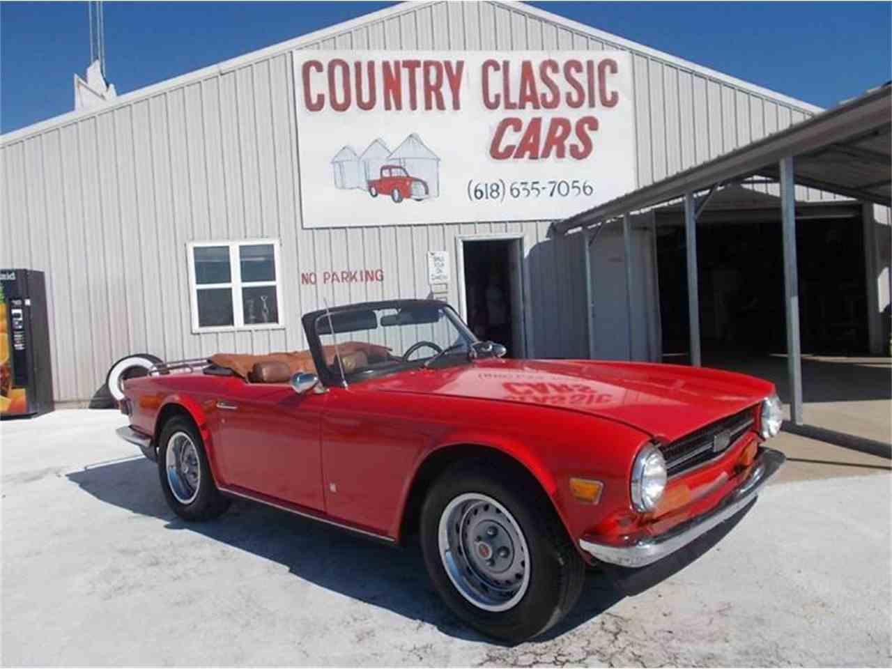 1973 Triumph TR6 for Sale | ClassicCars.com | CC-1024313