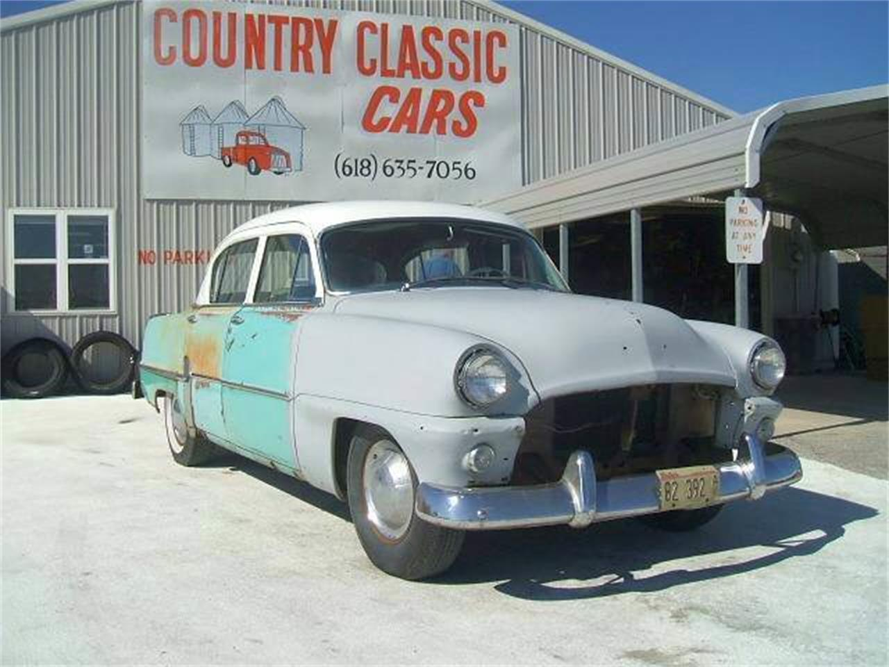 Large Picture of Classic '54 Plymouth 4-Dr Sedan located in Staunton Illinois Offered by Country Classic Cars - LYDR