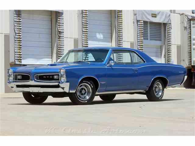 1966 Pontiac Gto For Sale On Classiccars Com