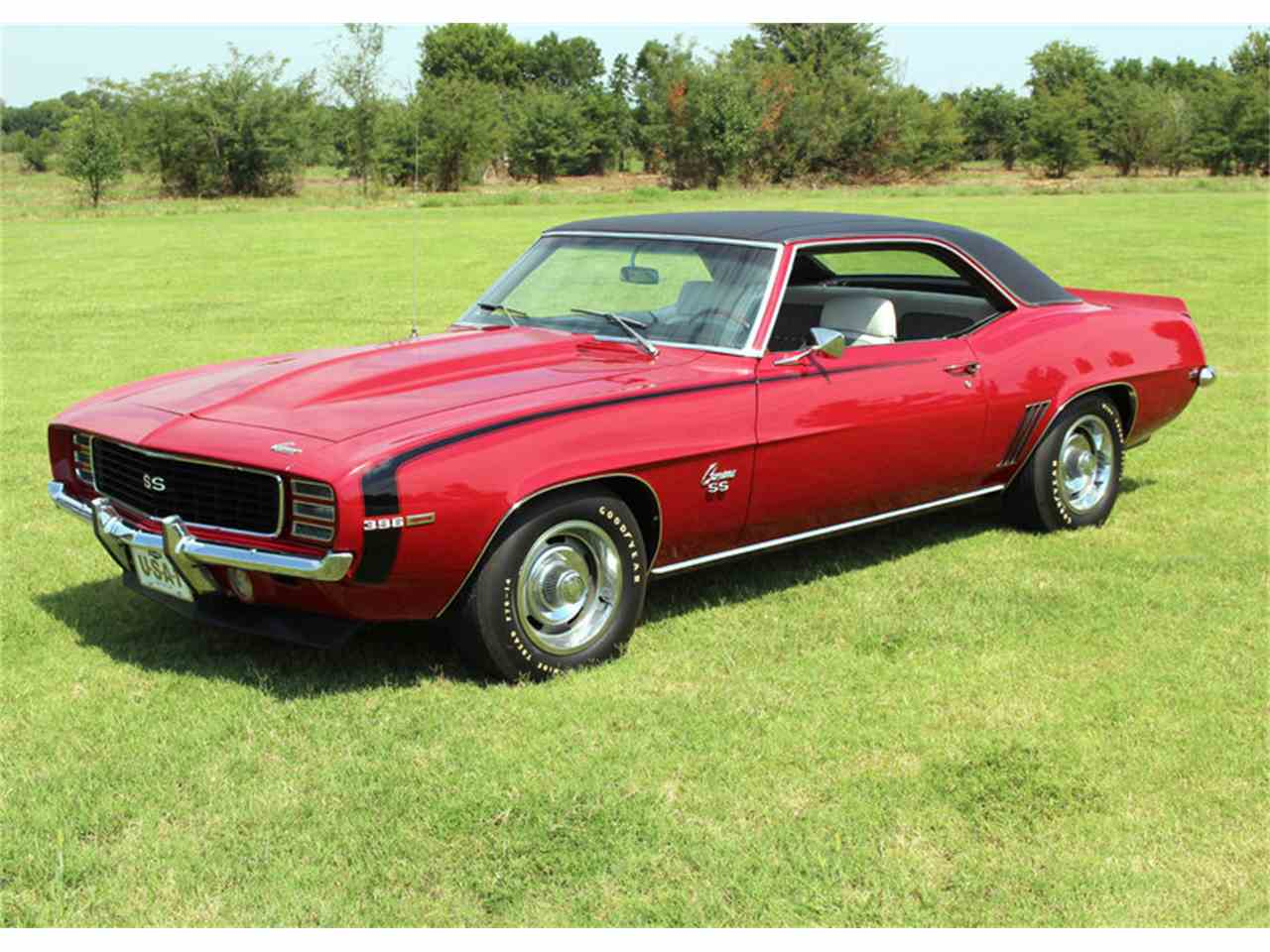 1969 chevrolet camaro rs ss for sale cc 1024549. Black Bedroom Furniture Sets. Home Design Ideas