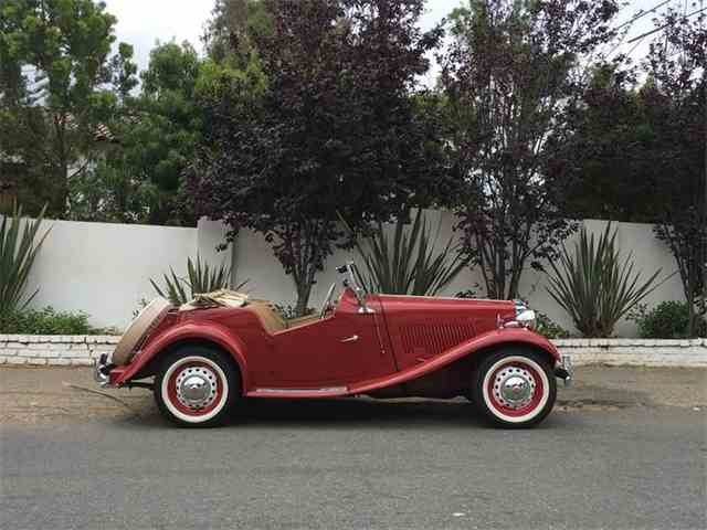 1952 Mg Td For Sale On Classiccars Com