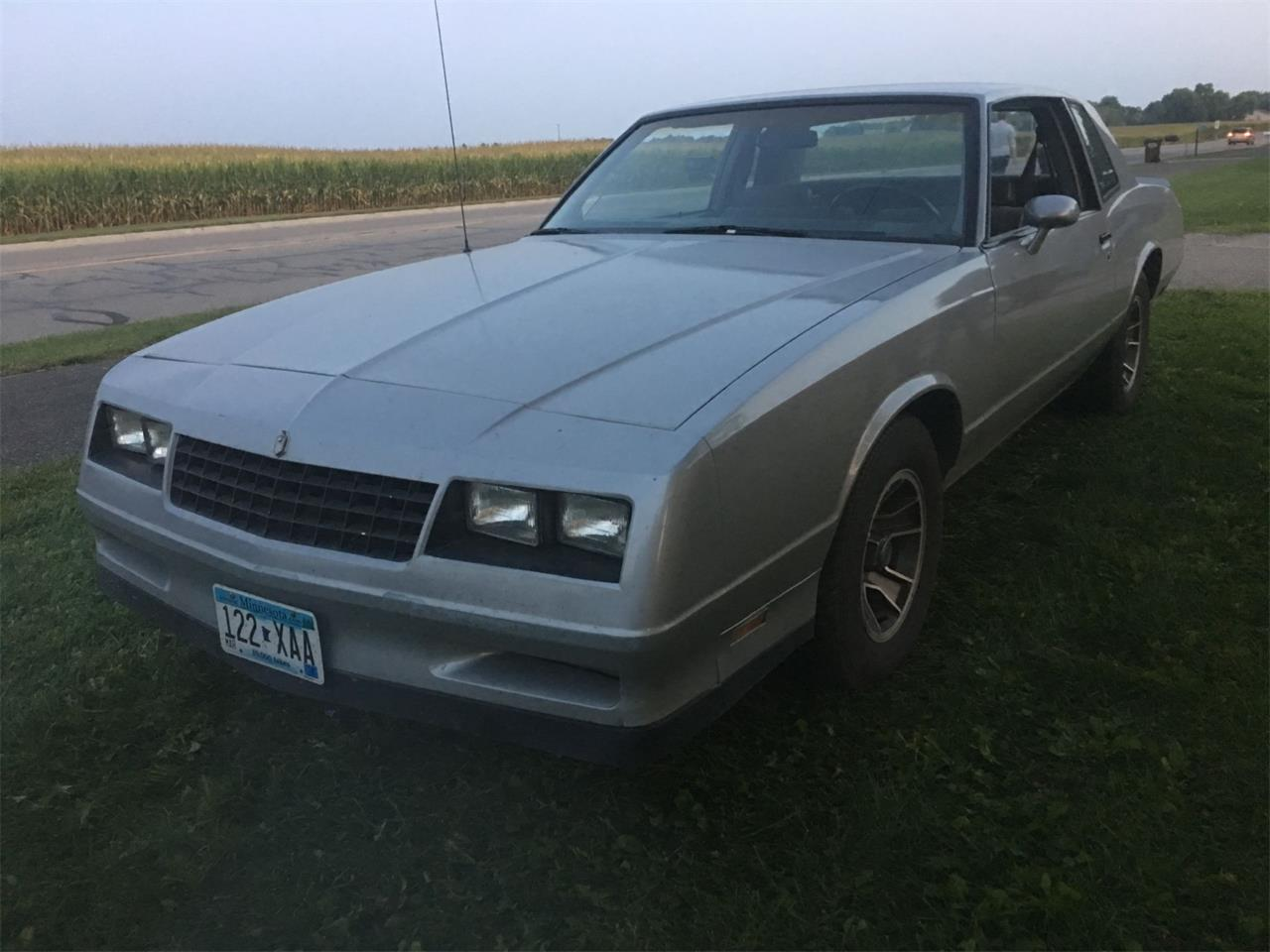 For Sale: 1985 Chevrolet Monte Carlo in Annandale, Minnesota