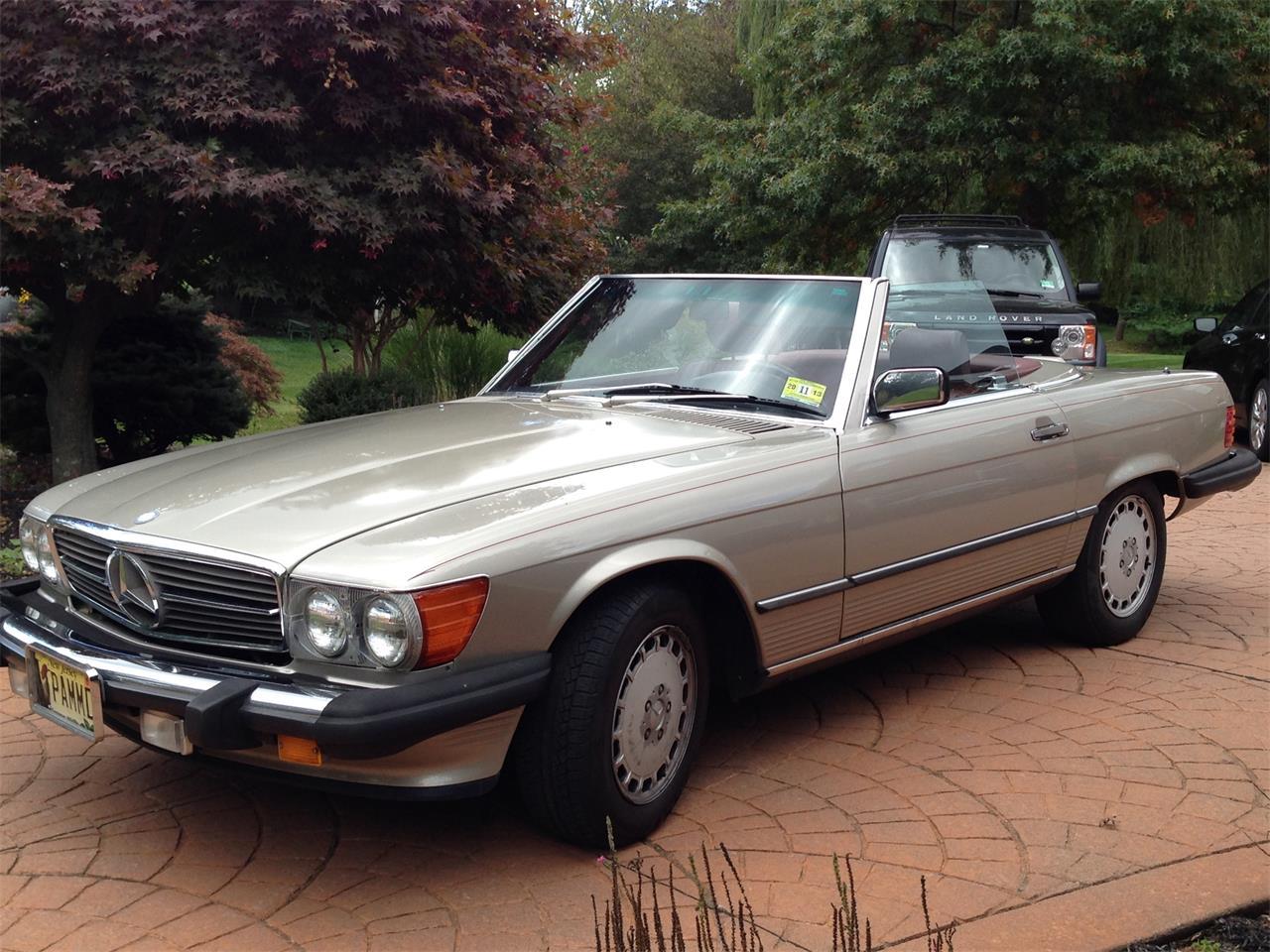 1989 Mercedes Benz 560sl For Sale Classiccars Com Cc 1024907