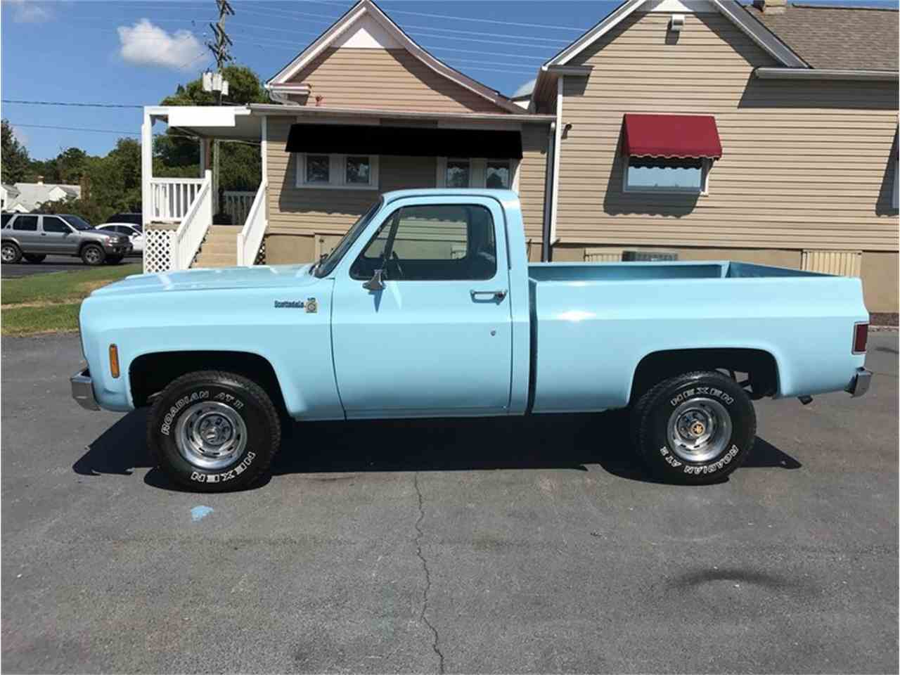 Large Picture of '77 C10 located in Greensboro North Carolina Auction Vehicle - LVFH